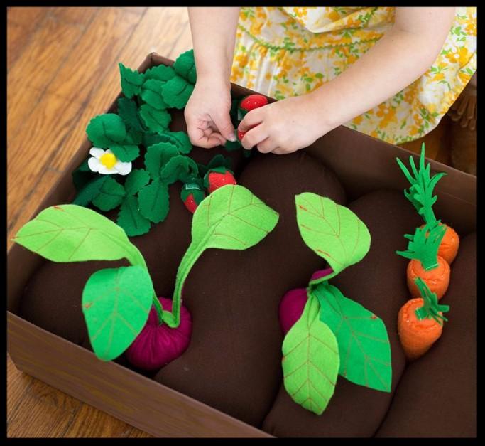 Поделка из подручных материалов на тему овощи