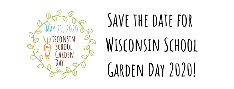 Wisconsin School Garden Day 2020