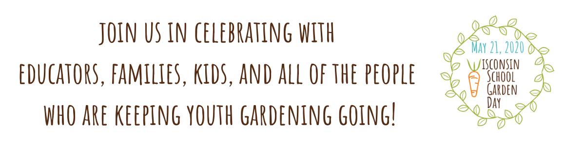 Wisconsin School Garden Day 2020